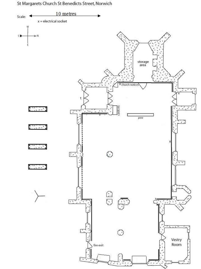 Church of Art - Floorplan
